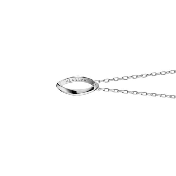 Alabama Monica Rich Kosann Poesy Ring Necklace in Silver - Image 3