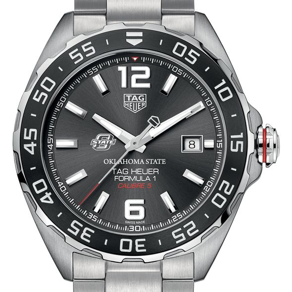 Oklahoma State Men's TAG Heuer Formula 1 with Anthracite Dial & Bezel - Image 1