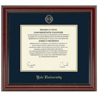 Yale Diploma Frame, the Fidelitas