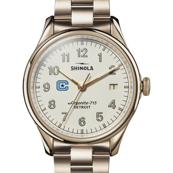 Citadel Shinola Watch, The Vinton 38mm Ivory Dial