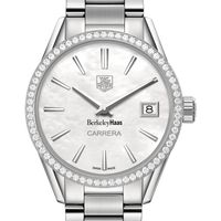 Berkeley Haas Women's TAG Heuer Steel Carrera with MOP Dial & Diamond Bezel