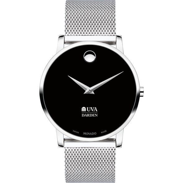 Darden School of Business Men's Movado Museum with Mesh Bracelet - Image 2