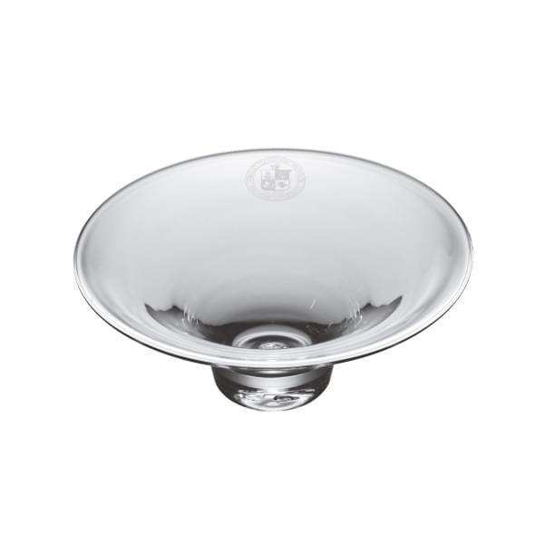 Virginia Tech Glass Hanover Bowl by Simon Pearce