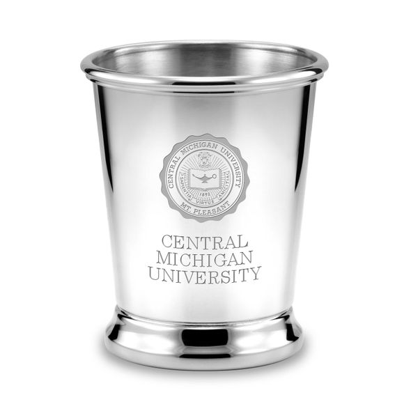 Central Michigan Pewter Julep Cup