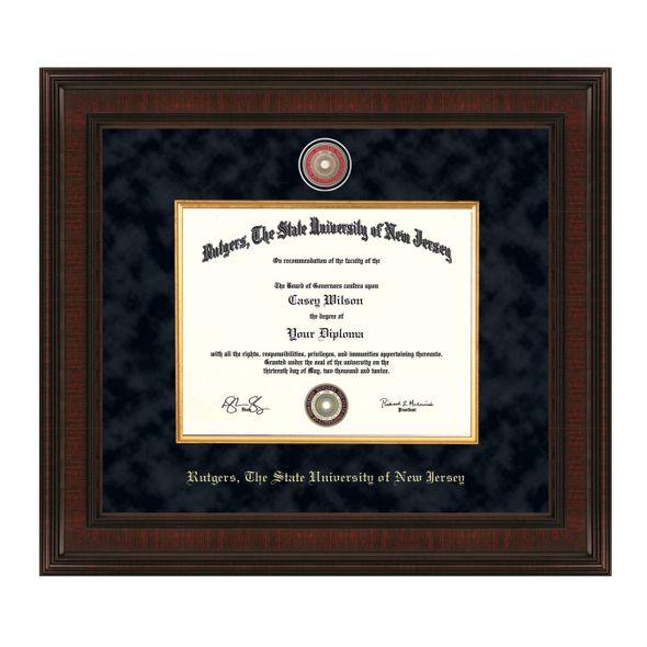 Rutgers University Bachelors Diploma Frame - Excelsior