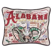 Alabama Embroidered Pillow