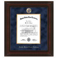 USNA Diploma Frame - Excelsior