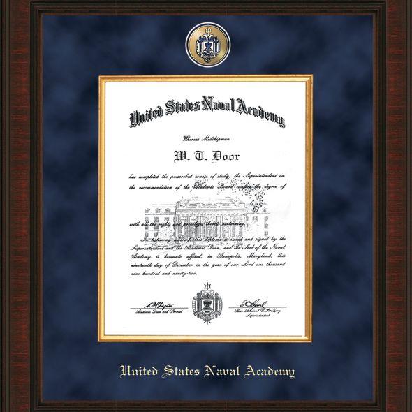 USNA Diploma Frame - Excelsior - Image 2