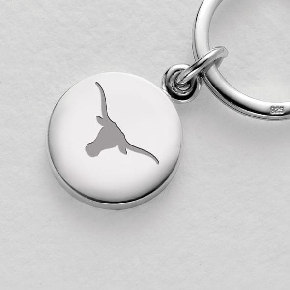 Texas Sterling Silver Insignia Key Ring - Image 2