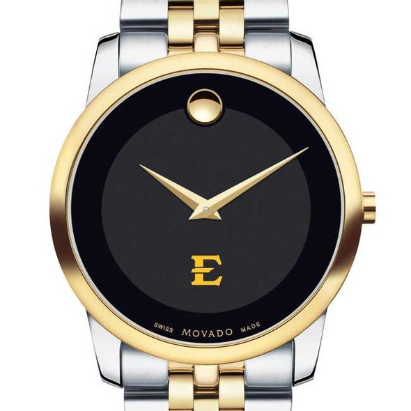 East Tennessee State University Men's Movado Two-Tone Museum Classic Bracelet