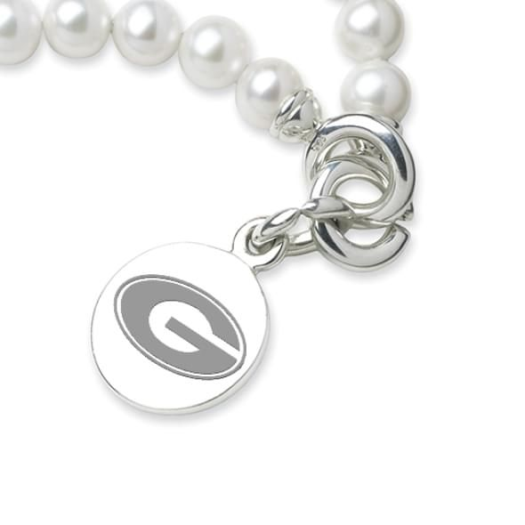 Georgia Pearl Bracelet with Sterling Silver Charm - Image 2