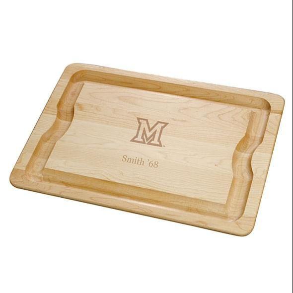 Miami University Maple Cutting Board