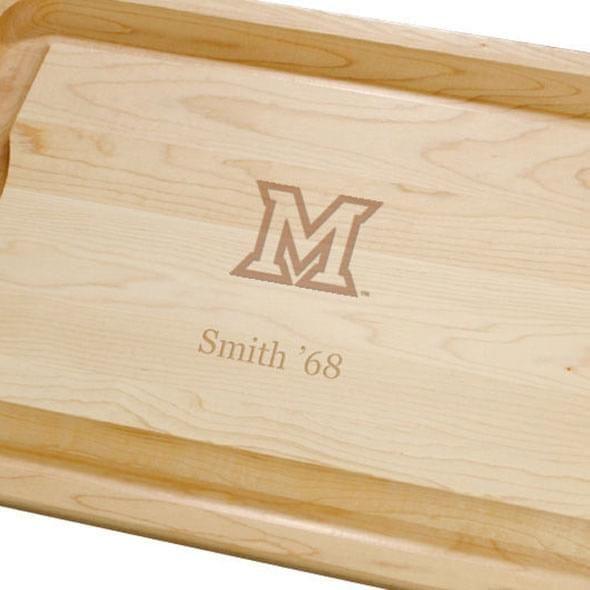 Miami University Maple Cutting Board - Image 2