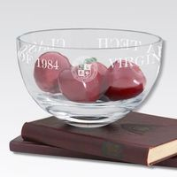 "Virginia Tech 10"" Glass Celebration Bowl"