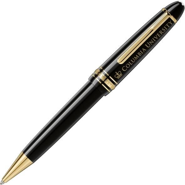 Columbia University Montblanc Meisterstück LeGrand Ballpoint Pen in Gold