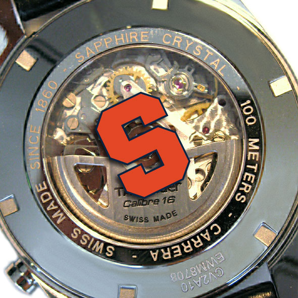 Syracuse University Men's TAG Heuer Carrera Tachymeter - Image 2