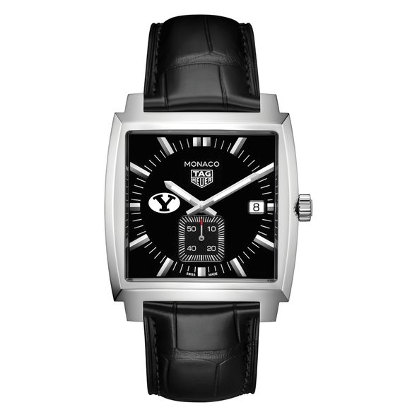 Brigham Young University TAG Heuer Monaco with Quartz Movement for Men - Image 2