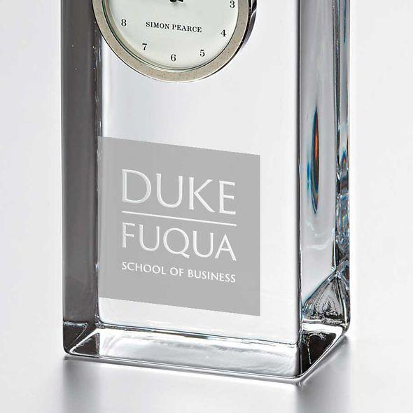 Duke Fuqua Tall Glass Desk Clock by Simon Pearce - Image 2