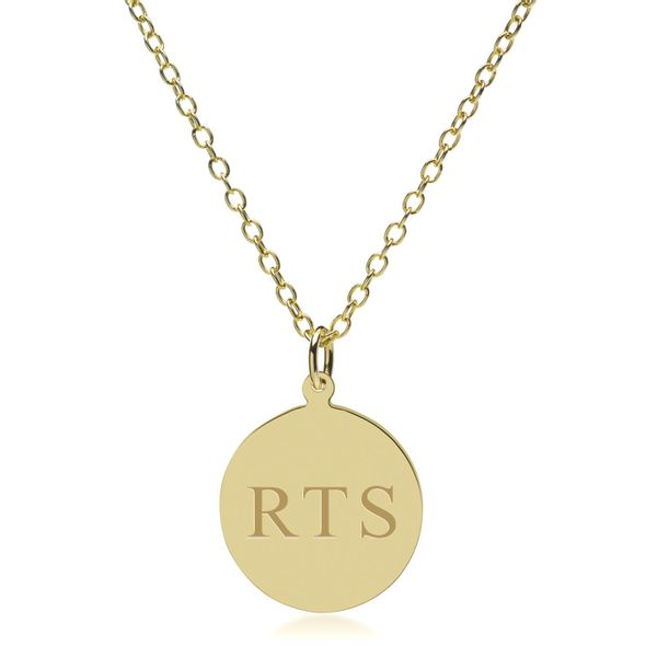 14K Gold Pendant & Chain - Image 2