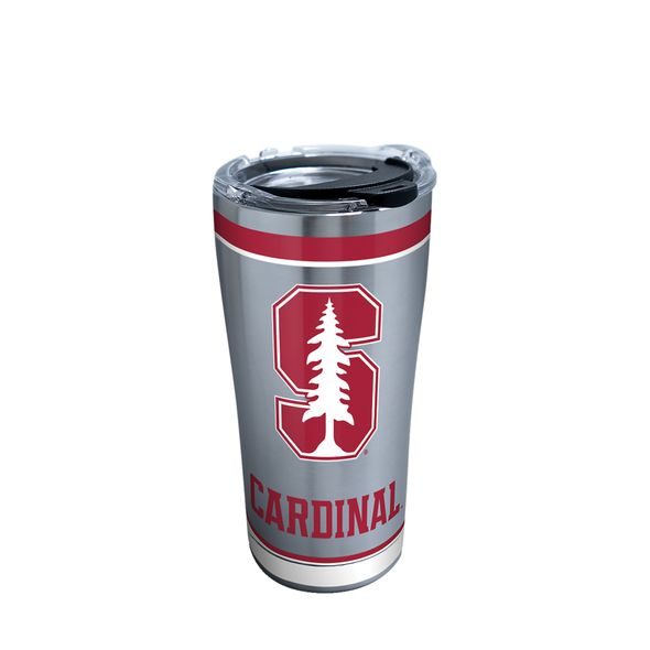 Stanford 20 oz. Stainless Steel Tervis Tumblers with Hammer Lids - Set of 2