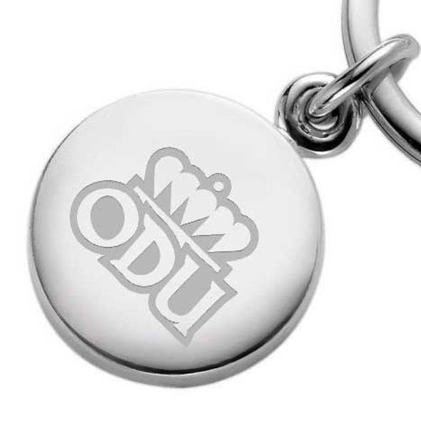 Old Dominion Sterling Silver Insignia Key Ring - Image 2