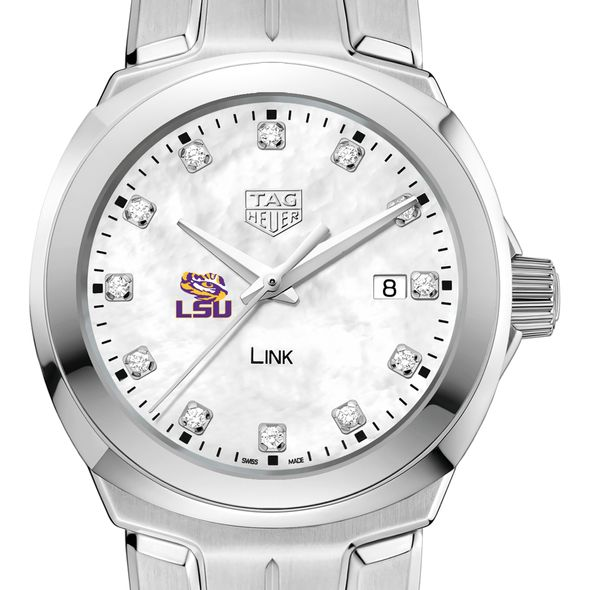 Louisiana State University TAG Heuer Diamond Dial LINK for Women