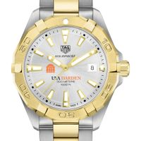 UVA Darden Men's TAG Heuer Two-Tone Aquaracer