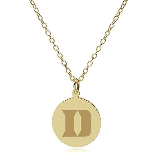 Duke 14K Gold Pendant & Chain