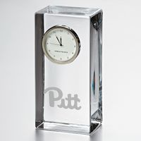 Pitt Tall Class Desk Clock by Simon Pearce