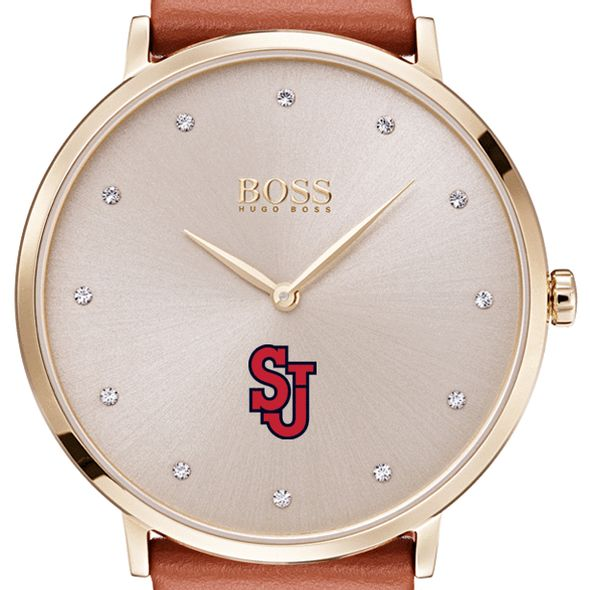 St. John's University Women's BOSS Champagne with Leather from M.LaHart