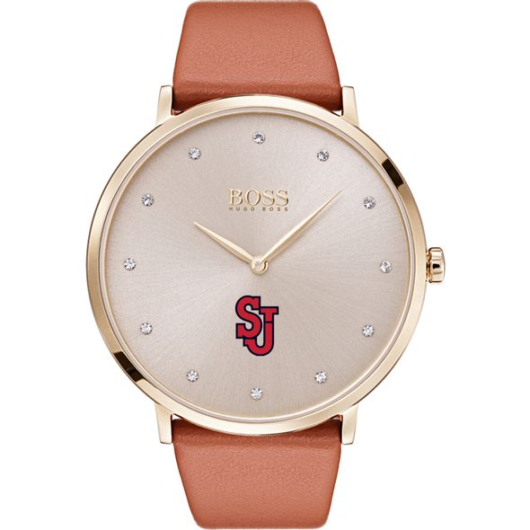 St. John's University Women's BOSS Champagne with Leather from M.LaHart - Image 2