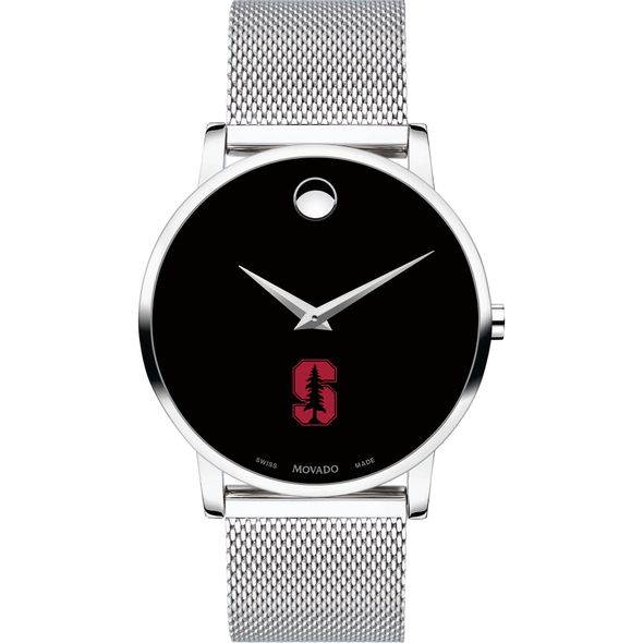 Stanford University Men's Movado Museum with Mesh Bracelet - Image 2