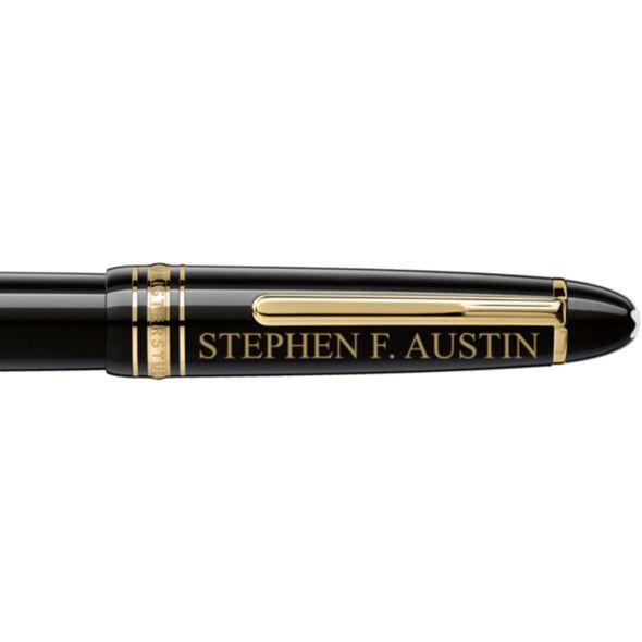 SFASU Montblanc Meisterstück LeGrand Rollerball Pen in Gold - Image 2