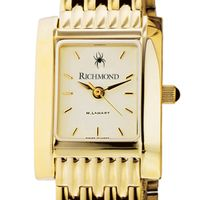 University of Richmond Women's Gold Quad with Bracelet