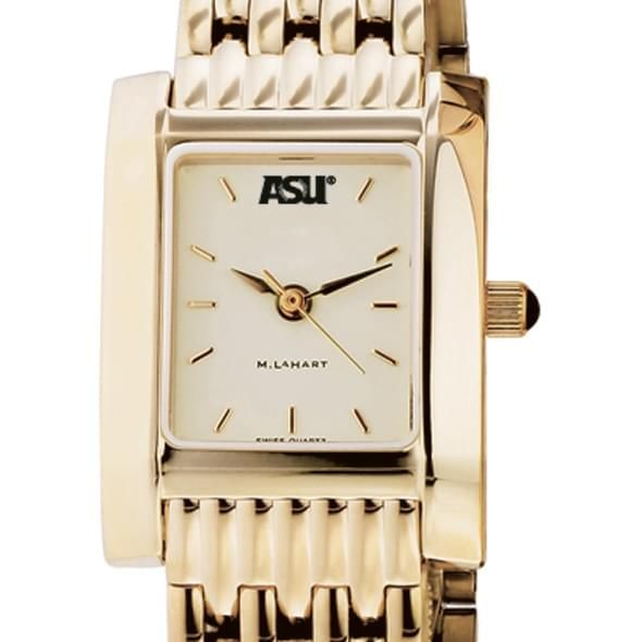 ASU Women's Gold Quad Watch with Bracelet - Image 1