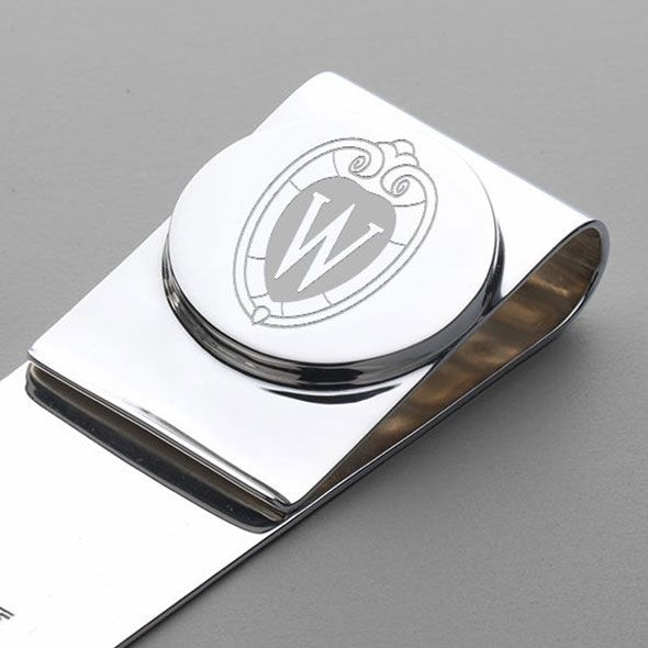 Wisconsin Sterling Silver Money Clip - Image 2