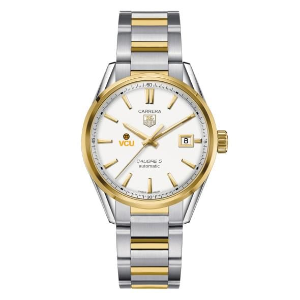 VCU Men's TAG Heuer Two-Tone Carrera with Bracelet - Image 2
