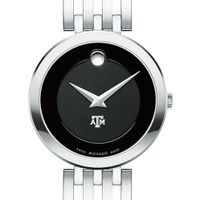 Texas A&M University Women's Movado Esparanza Stainless Steel Museum with Bracelet