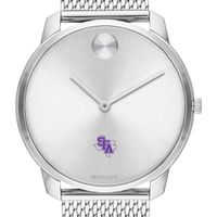 Stephen F. Austin State University Men's Movado Stainless Bold 42