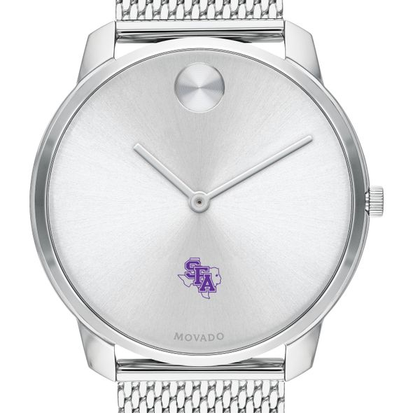 Stephen F. Austin State University Men's Movado Stainless Bold 42 - Image 1