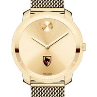 Carnegie Mellon University Women's Movado Gold Bold 36