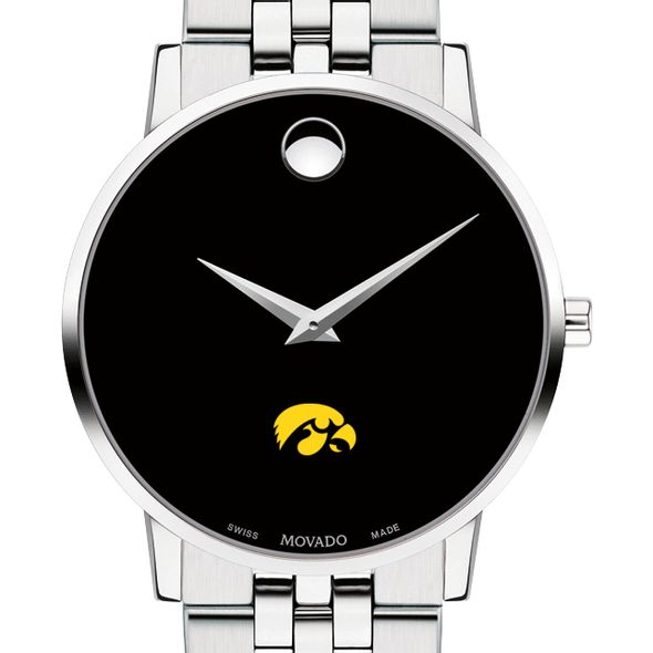 University of Iowa Men's Movado Museum with Bracelet