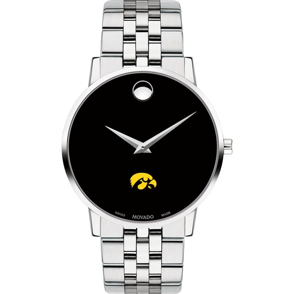 University of Iowa Men's Movado Museum with Bracelet - Image 2