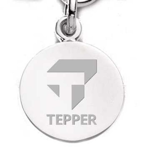 Tepper Sterling Silver Charm