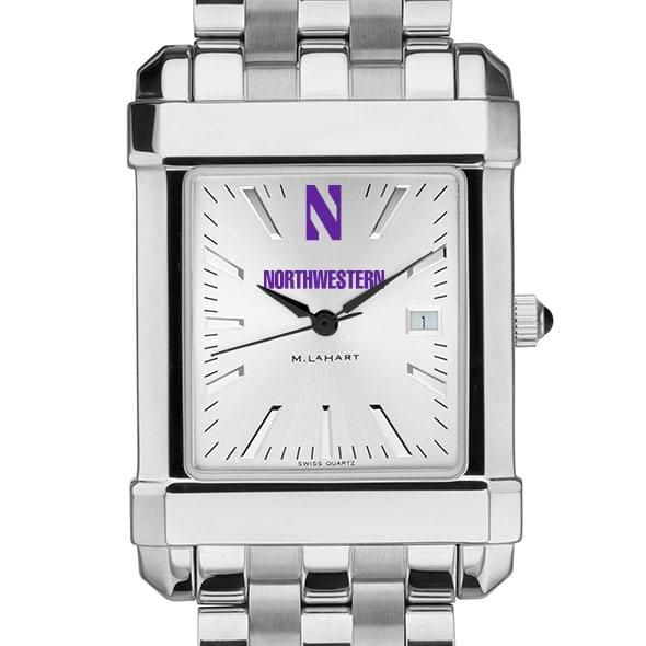 Northwestern Men's Collegiate Watch w/ Bracelet - Image 1