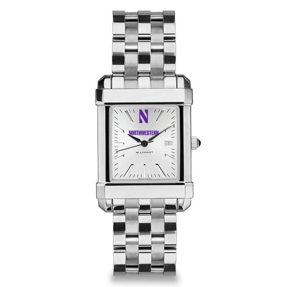 Northwestern Men's Collegiate Watch w/ Bracelet - Image 2