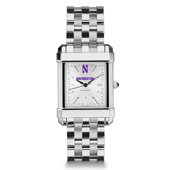 Northwestern Men's Collegiate Watch w/ Bracelet - Image 2