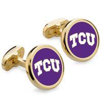 Texas Christian University Enamel Cufflinks
