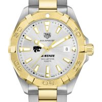 Kansas State University Men's TAG Heuer Two-Tone Aquaracer