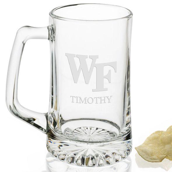 Wake Forest 25 oz Beer Mug Logo S - Image 2